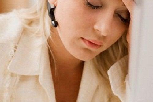 Φτωχή κυκλοφορία του αίματος - Γυναίκα κουρασμένη