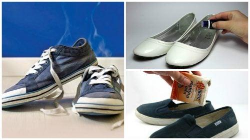 Πείτε αντίο στην κακοσμία των παπουτσιών με 6 σπιτικά κόλπα