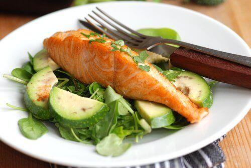 ψαρι με λαχανικα