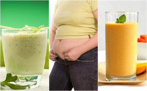 Φούσκωμα στο στομάχι; Απαλλαγείτε φυσικά με 5 smoothies!