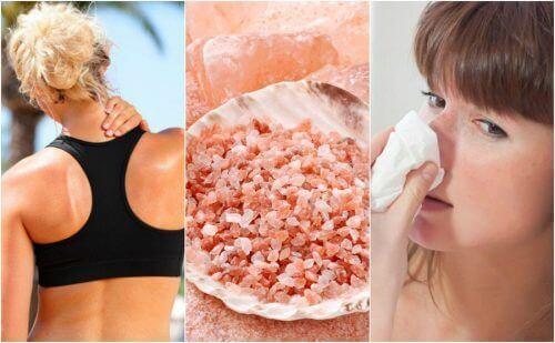 10 οφέλη που προσφέρει το ροζ αλάτι Ιμαλαΐων