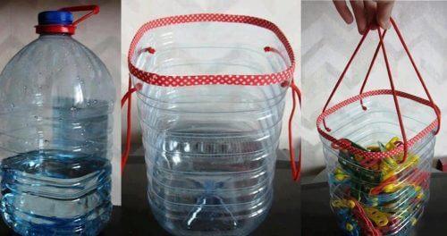 12 διασκεδαστικοί τρόποι για να ανακυκλώσετε τα πλαστικά μπουκάλια, καλάθια