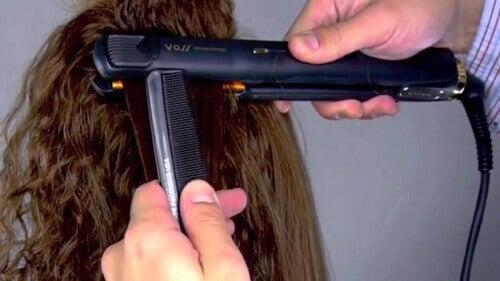 3 συμβουλές για να ισιώσετε τα μαλλιά σας χωρίς να τα τραυματίσετε