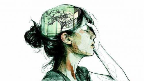 γυναίκα, σκέψεις είστε μόνοι
