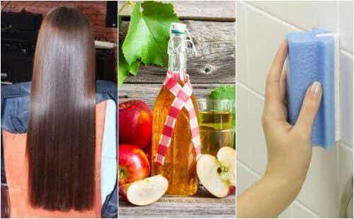5 ασυνήθιστες χρήσεις που θέλετε να μάθετε για το μηλόξυδο