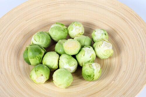 λαχανάκια βρυξελλών, λαχανικά υψηλής πρωτεϊνικής αξίας