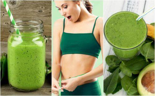 Πώς να φτιάξετε 5 smoothies για απώλεια βάρους με σπανάκι
