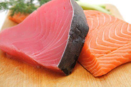 ψάρια, μάτια, Προστατεύστε τα μάτια σας από την εκφύλιση της ωχράς κηλίδας με 7 τρόφιμα