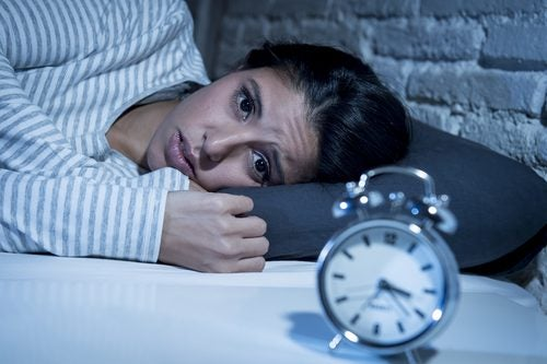 Χαμηλά επίπεδα σεροτονίνης - Γυναίκα δε μπορεί να κοιμηθεί