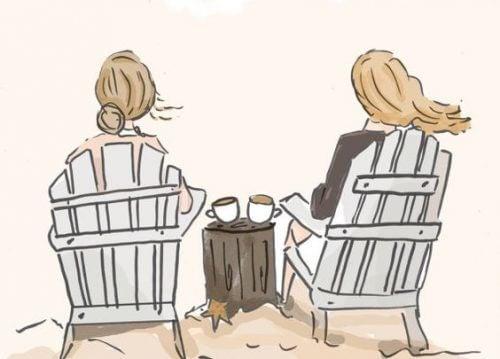 Φιλία μεταξύ γυναικών: Ένας συναρπαστικός τρόπος για την καταπολέμηση του άγχους, οι γυναίκες αντιδρούν διαφορετικά