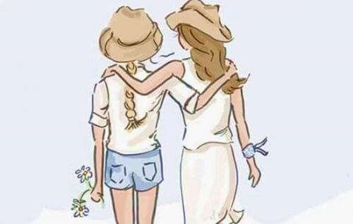 Φιλία μεταξύ γυναικών: Ένας συναρπαστικός τρόπος για την καταπολέμηση του άγχους, πηγή οξυτοκίνης