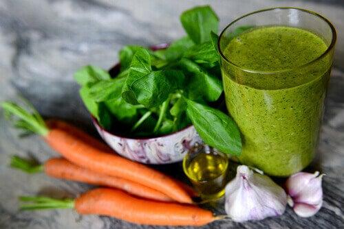σπανάκι μειώστε τη χοληστερίνη
