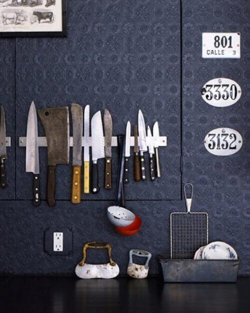 Οργάνωση του σπιτιού, μαγνητική μπάρα για την κουζίνα