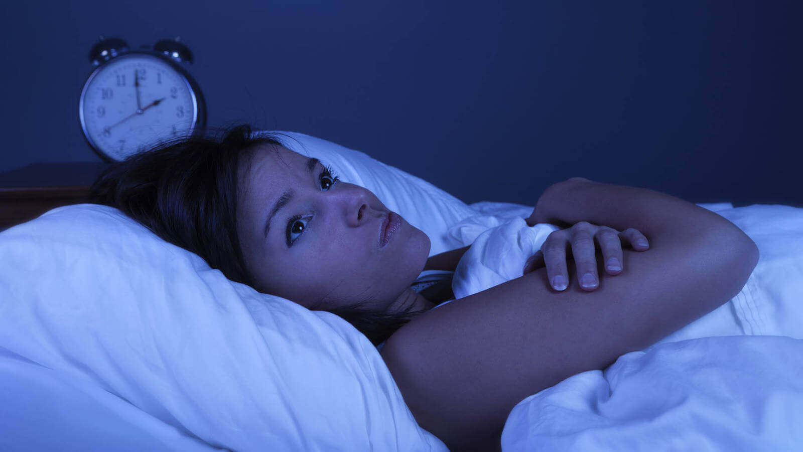 διαταραχές του θυρεοειδούς - Γυναίκα με αϋπνία