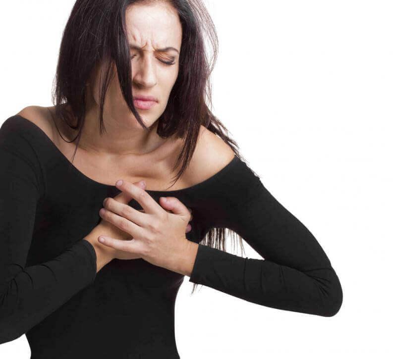 στήθος, πόνοι