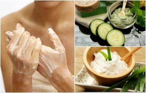 Πώς να μειώσετε με φυσικό τρόπο τις ρυτίδες στα χέρια σας