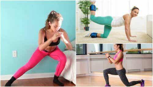 5 εύκολες ασκήσεις για να τονώσετε τους γλουτούς σας στο σπίτι