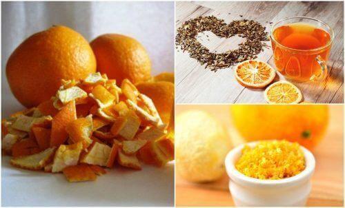 5 εναλλακτικές χρήσεις για τις φλούδες πορτοκαλιού