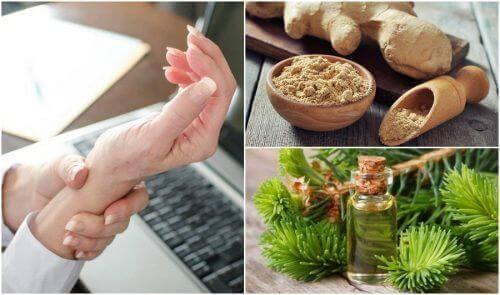 5 φυσικές λύσεις για τον πόνο του καρπιαίου σωλήνα