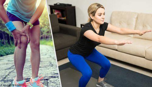 5 συμβουλές και ασκήσεις για δυνατά γόνατα!