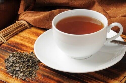 Αντιμετωπίσετε τα αέρια - Τσάι μπόλντο σε κούπα