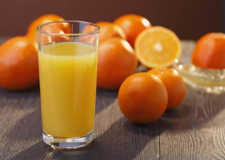 χυμός πορτοκάλι  φυσικά αντιβιοτικά