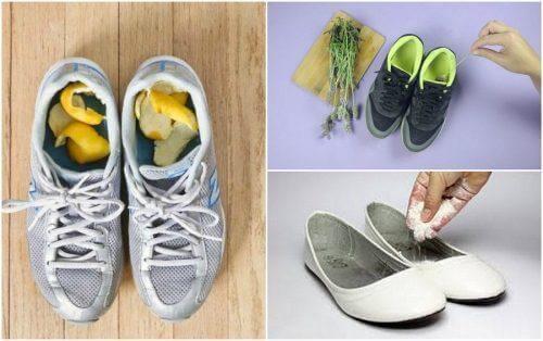 Πώς αποτρέπονται οι άσχημες οσμές στα παπούτσια με σπιτικές θεραπείες