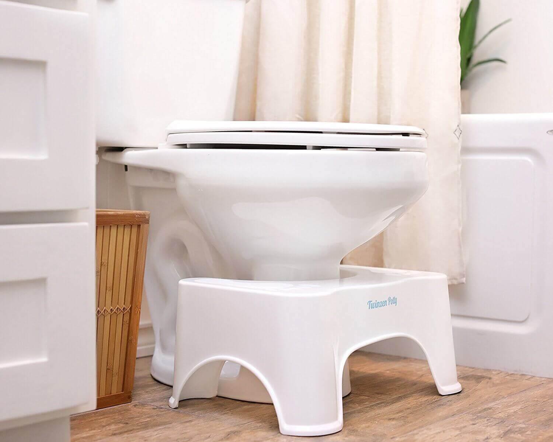 τουαλέτα με σκαμνάκι