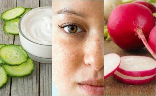 Μειώστε τις σκούρες κηλίδες στο πρόσωπο με φυσικές θεραπείες