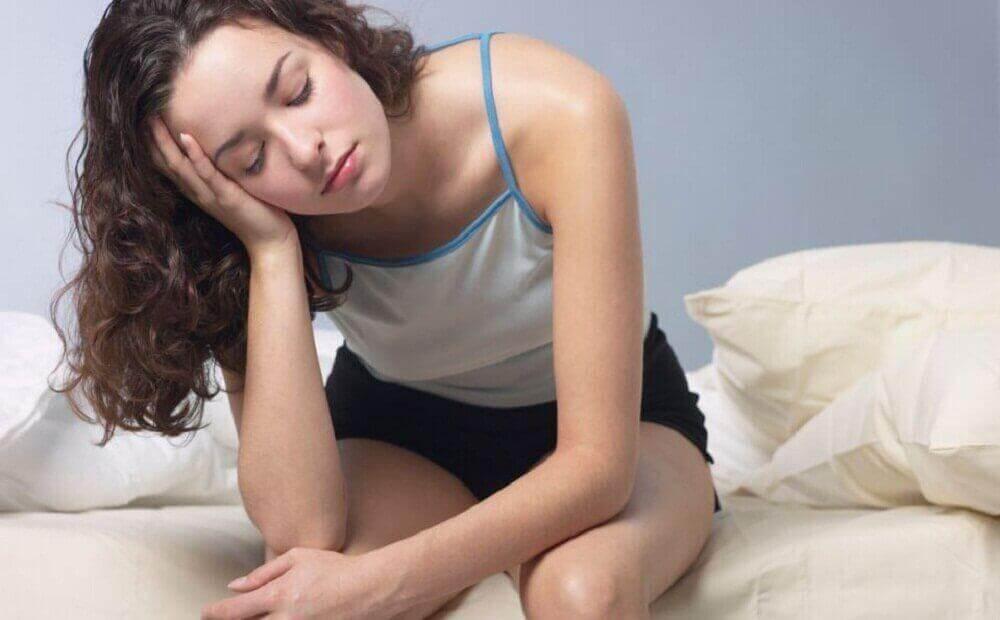 Θρόμβοι στο αίμα - Γυναίκα κουρασμένη