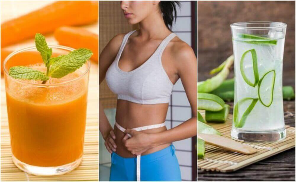 Μειώστε το λίπος της κοιλιάς με 5 φυσικούς χυμούς