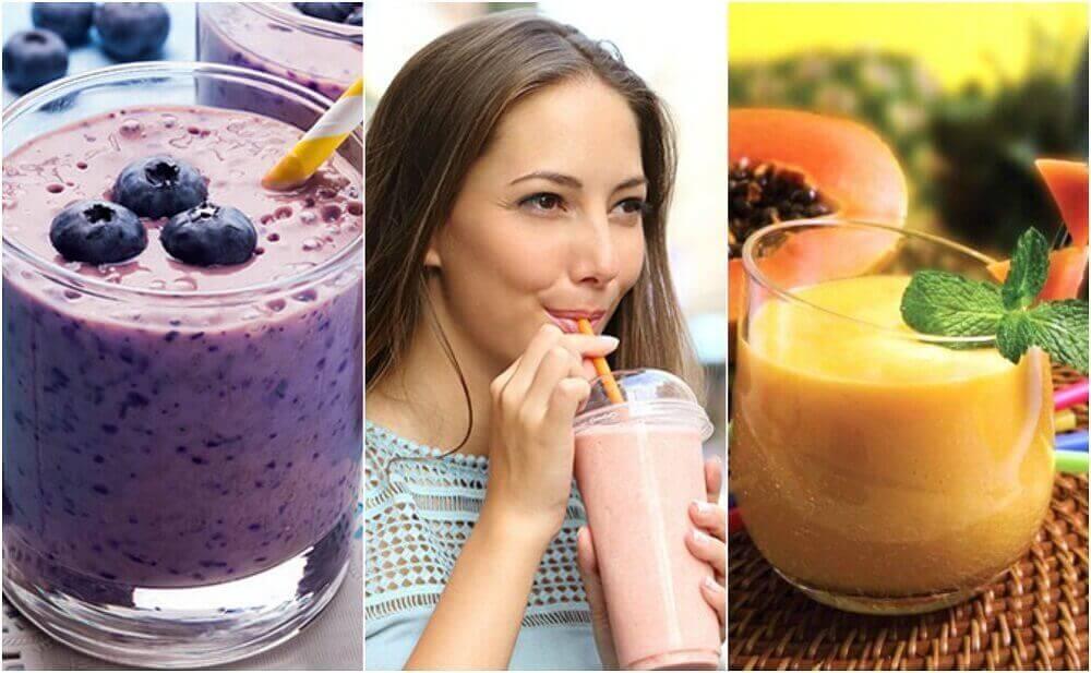 5 υγιεινά σμούθι για να ξεκινήσετε τη μέρα σας
