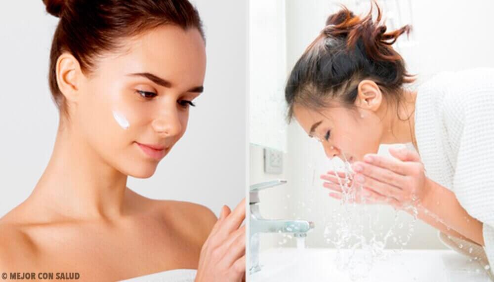 Πέντε λάθη που κάνετε όταν πλένετε το πρόσωπό σας