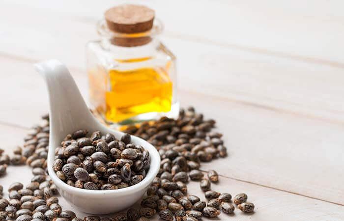 5 φυσικές θεραπείες για να κάνετε πιο απαλές τις γραμμές στο μέτωπο, καστορέλαιο, ροδόνερο και γάλα
