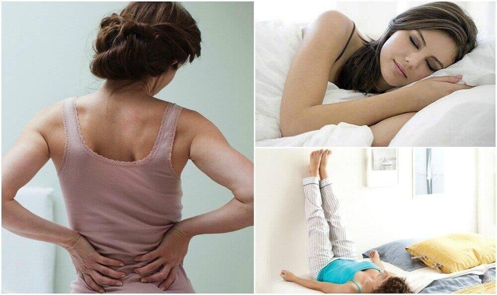 Τι μπορείτε να κάνετε για ν' απαλλαγείτε από τον πόνο στη μέση
