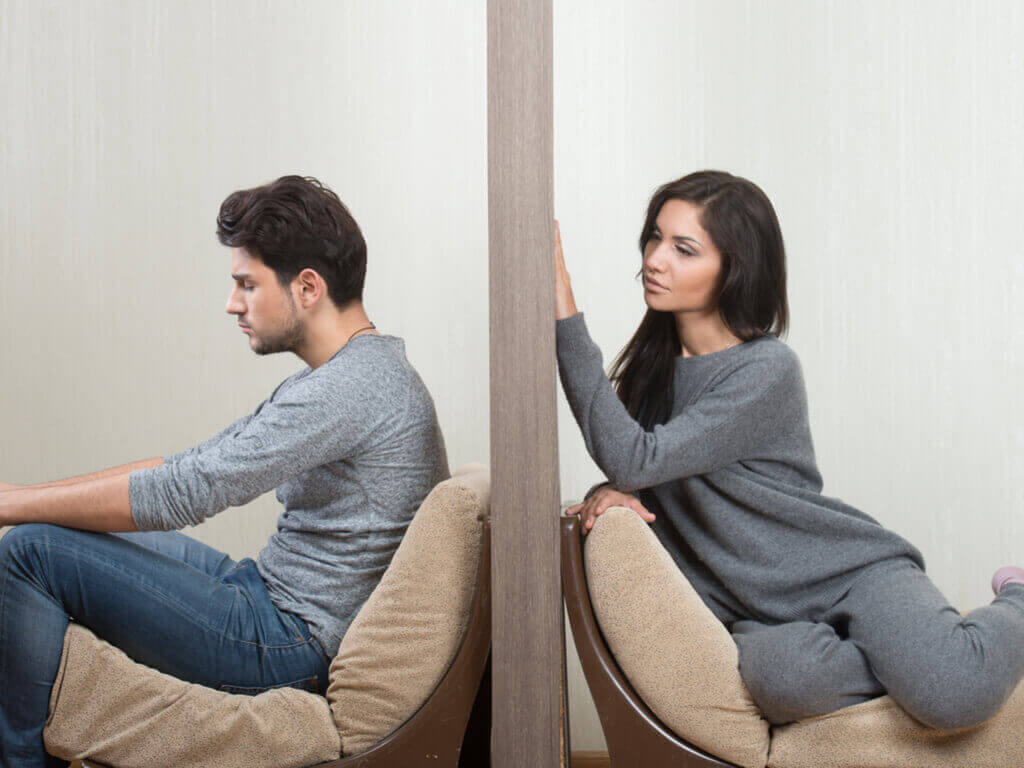 Σας αγαπάει ή σας χρησιμοποιεί; - Τοίχος ανάμεσα σε ζευγάρι