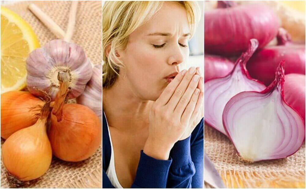 Φυσική καταπολέμηση του βήχα χρησιμοποιώντας κρεμμύδι