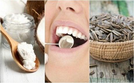 Αφαιρέστε την οδοντική πλάκα με 6 φυσικές λύσεις