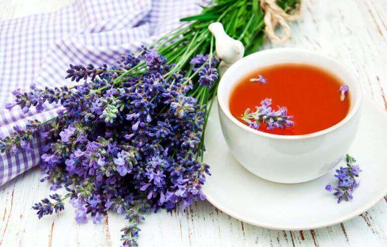 λεβάντα, τσάι- φυσικά βοηθήματα για να πέσετε για ύπνο