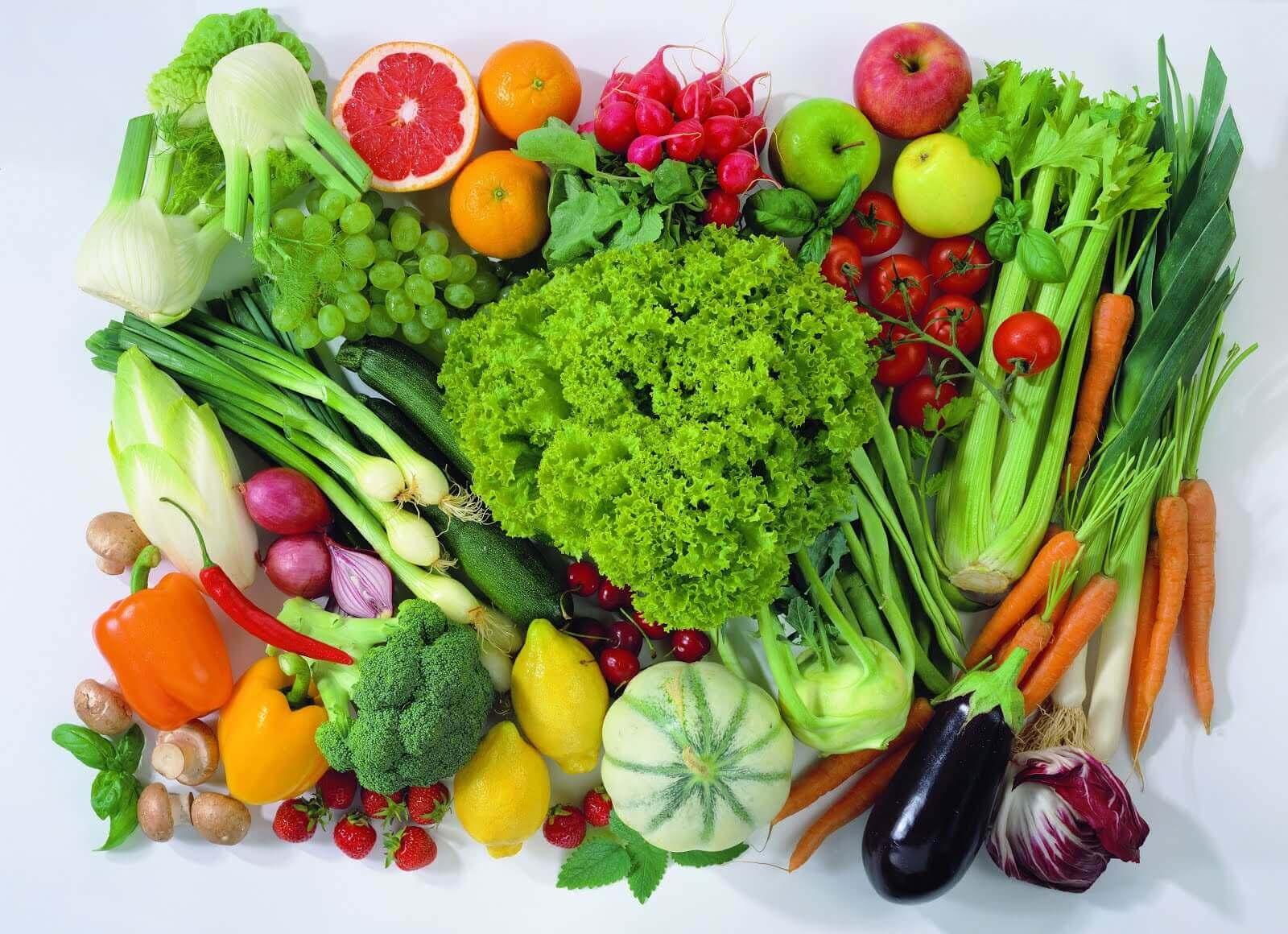 αδυνατίσετε κατά την εμμηνόπαυση - λαχανικά