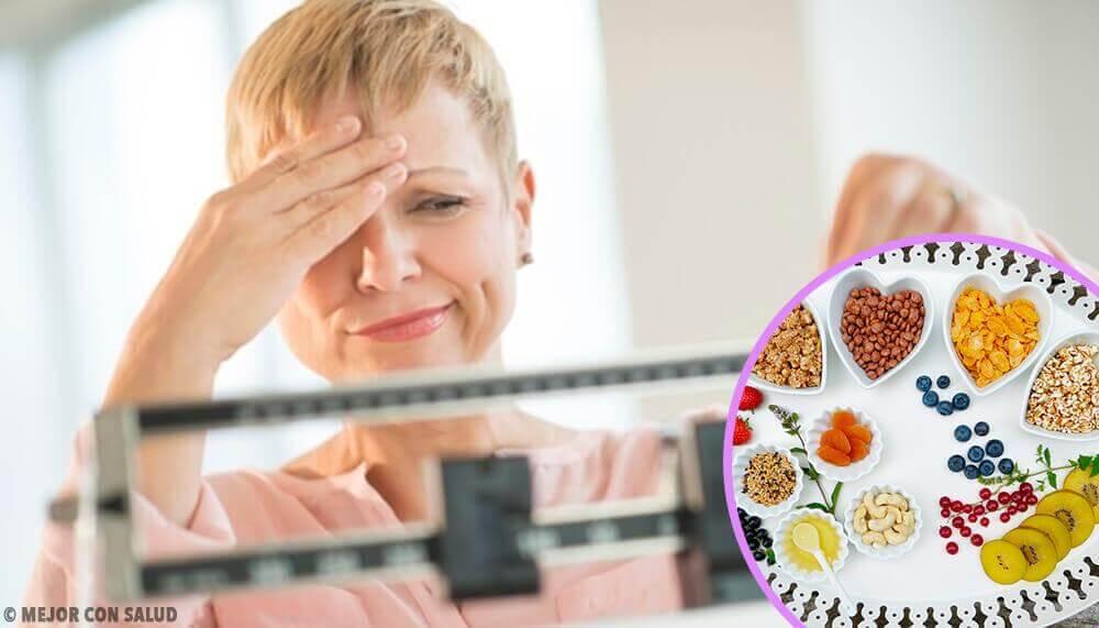 Η ιδανική δίαιτα για ν' αδυνατίσετε κατά την εμμηνόπαυση