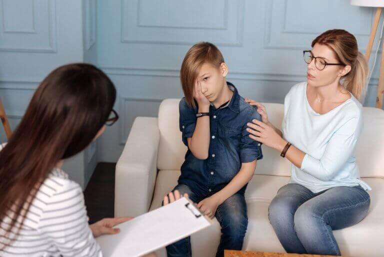 παιδί σας είναι ψυχοπαθής μητέρα με παιδί σε γιατρό
