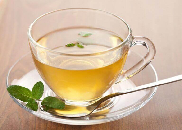 ροφήματα με πράσινο τσάι