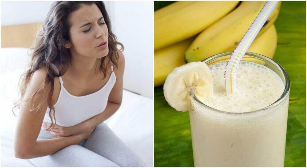 Ανακουφίστε το έλκος στομάχου με σμούθι από πατάτα και μπανάνα