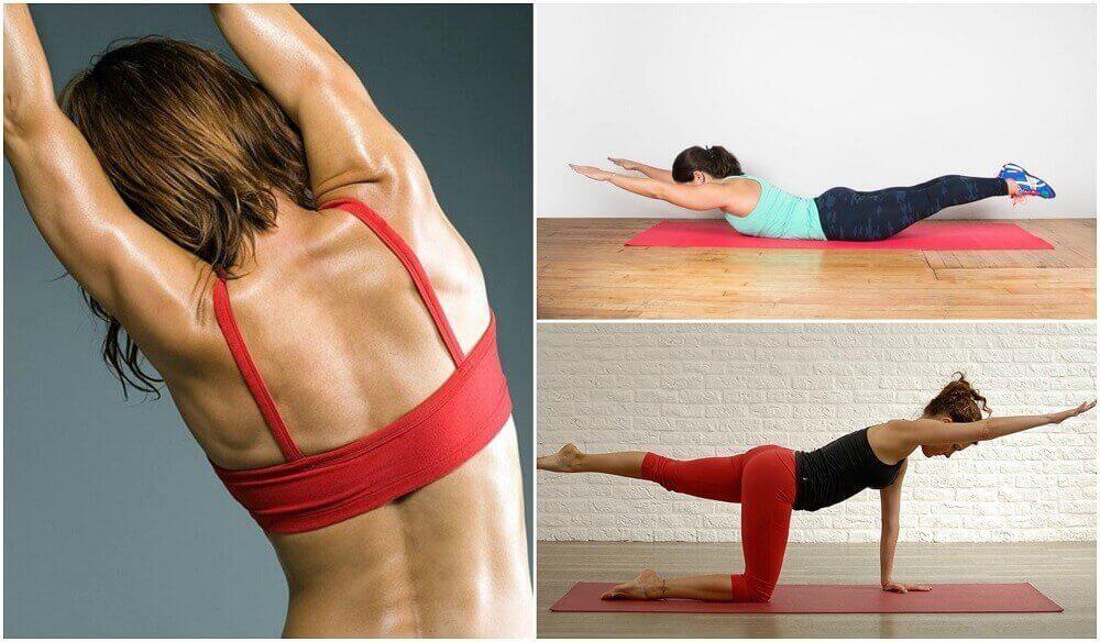 5 ασκήσεις για την πλάτη σας, χωρίς βάρη