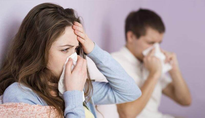 γυναίκα άρρωστη