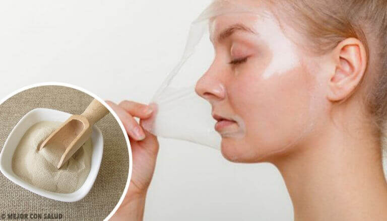 4 μάσκες ζελατίνης για απολέπιση και αναζωογόνηση της επιδερμίδας