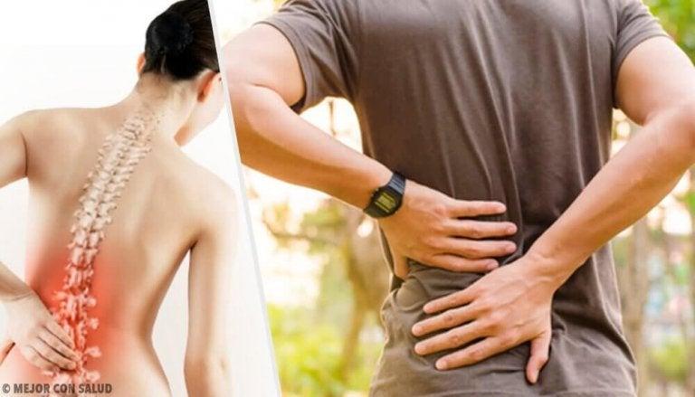 6 προβλήματα υγείας που ευθύνονται για τον πόνο στην πλάτη