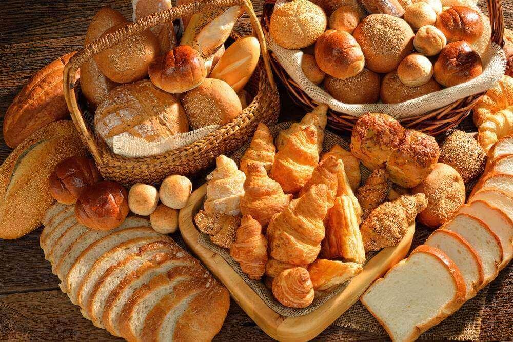 διάφορα ψωμιά