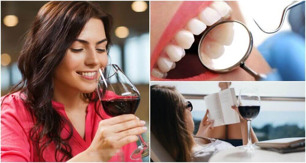8 λόγοι για να πίνετε κόκκινο κρασί με σύνεση. Δείτε περισσότερα!
